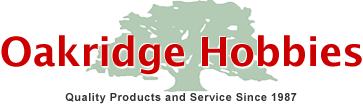 Oakridge Hobbies Promo Codes