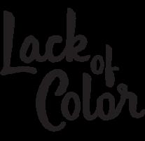 Lack of color Promo Codes